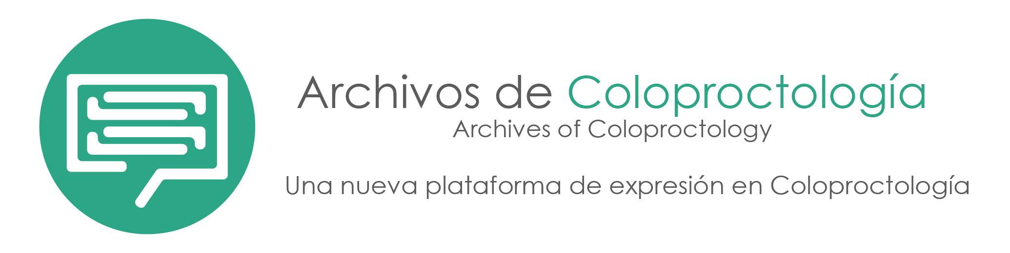 Archivos de Coloproctología